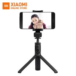 Original Xiaomi Foldable Handheld Tripod Selfie Stick Monopod Selfiestick Bluetooth With Wireless Shutter For Android & iPhone