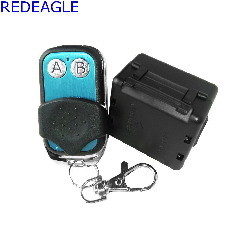 REDEAGLE Alta Calidad Interruptor de Control Remoto Inalámbrico Para El Sistema de Cerradura de La Puerta de Control de Acceso y Sistema de Teléfono Video de La Puerta En la Acción