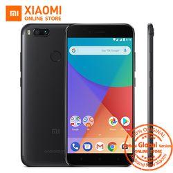 Mondial Version Xiao mi mi A1 4 GB 64 gb smartphone snapdragon 625 Octa core Double 12.0MP 5 V 2A 5.5 ''1080 p 403PPI Android Un CE FCC