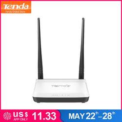 Tenda N300 300 Мбит/с беспроводной Wi-Fi маршрутизатор Wi-Fi ретранслятор усилитель, многоязычная прошивка, 1WAN + 3LAN порты, 802.11b/g/n, простая настройка