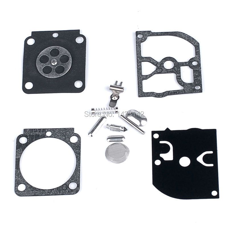 3PCS ZAMA RB-100 Carb Carburettor Kit For Stihl FS38 FS55 BG45 HS45 MM55 C1Q-S93 Carby