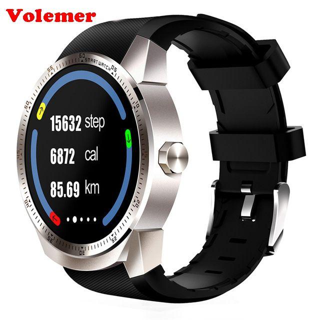 Volemer K98H 3G Smart Watch Android 4.4 OS MTK6572A RAM 512MB ROM 4G Support nano SIM Card GPS WIFI Heart Rate Smart wristwatch
