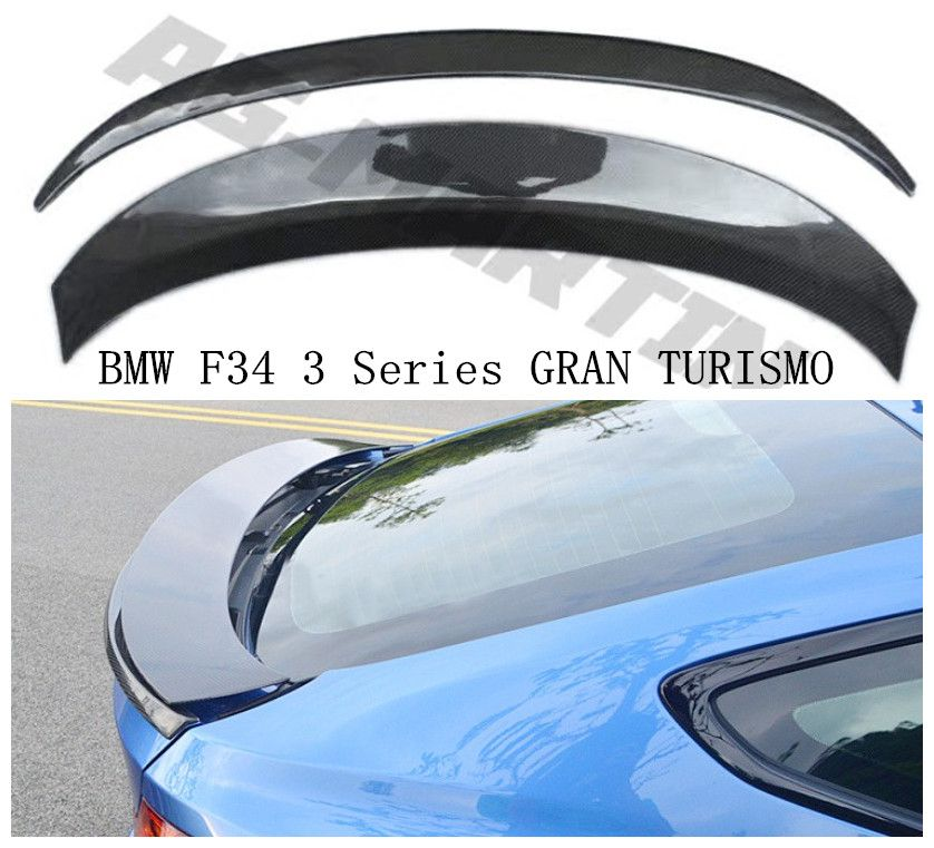 High Quality Carbon Fiber Spoiler For BMW F34 3 Series GT 328 335 2014 2015 2016 2017 2018 Rear Wing Spoilers Car Accessories