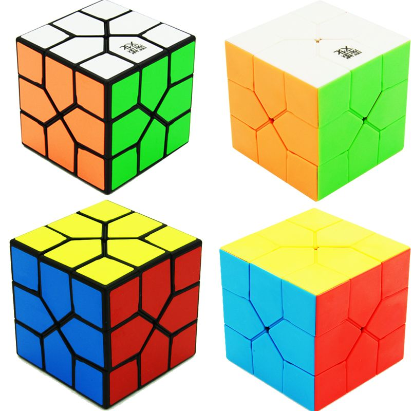 MoYu Redi Cube Magic Puzzle Speed Cube Professional Triangle Shape Cube Specail Game Cubes Educational Toys for Children Kids