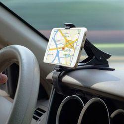 Señora Win antideslizante titular del teléfono del coche tablero de montaje abrazadera clip ajustable teléfono soporte GPS para el iPhone Samsung xiaomi Huawei
