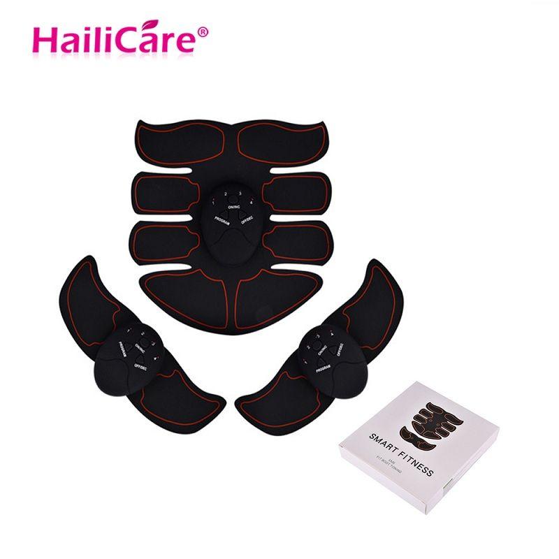 EMS appareil de stimulateur d'entraînement musculaire Abdominal ceinture sans fil Gym corps professionnel minceur masseur maison Fitness équipement de beauté
