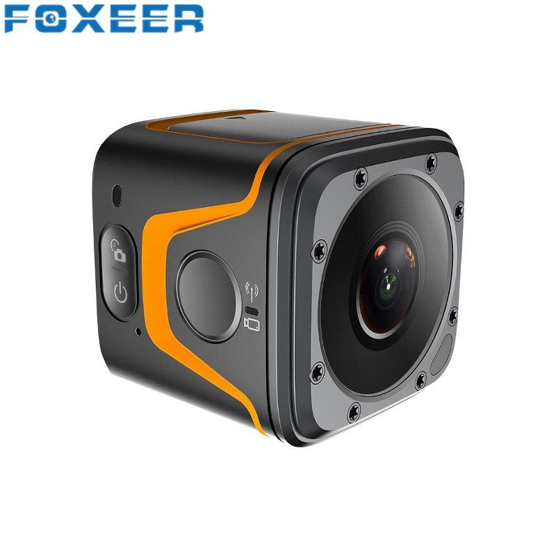 FOXEER Box 4K CMOS FOV 155 Degree Micro Bluetooth Wifi Camera Mini Sport Action Cam For RC Models Quadcopter Toys FPV