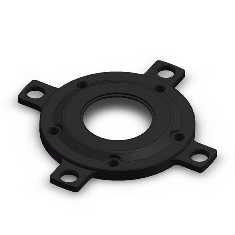 Accessoires anneau de chaîne adaptateur de disque pour Tongsheng vélo électrique moteur d'entraînement moyen 104BCD vtt Conversion de VTT