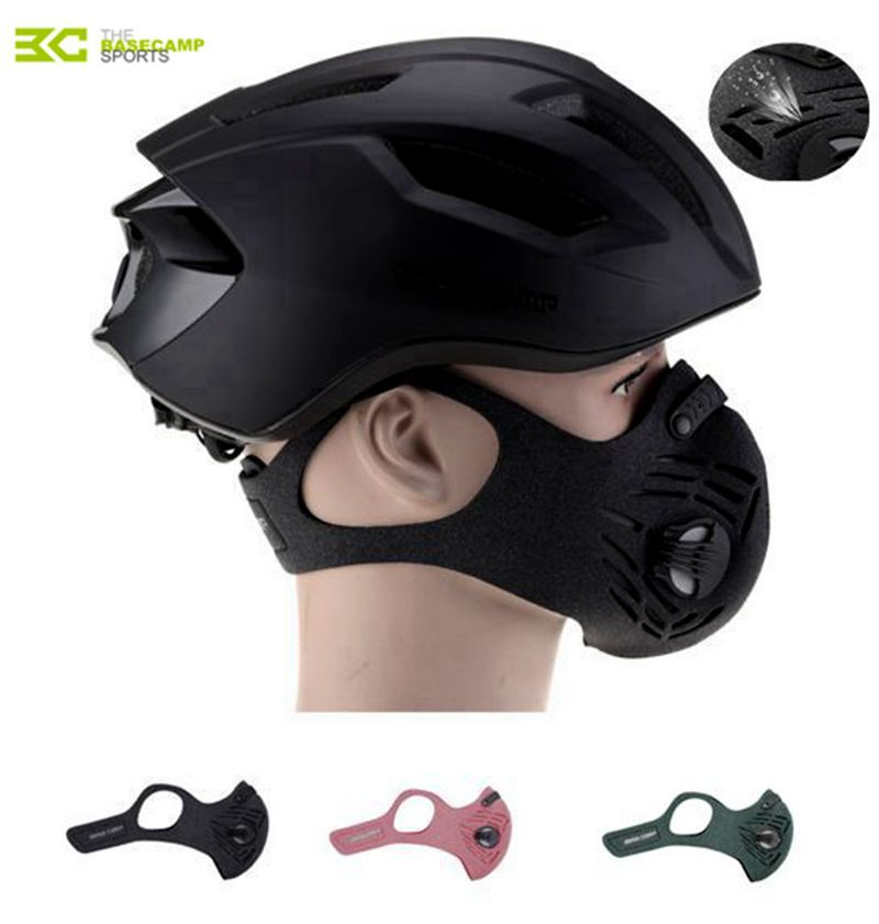 Aktivkohle 50g Running Training Masken Staub-proof Radfahren Gesichtsmaske Anti Verschmutzung Fahrrad Filter Outdoor laufende maske