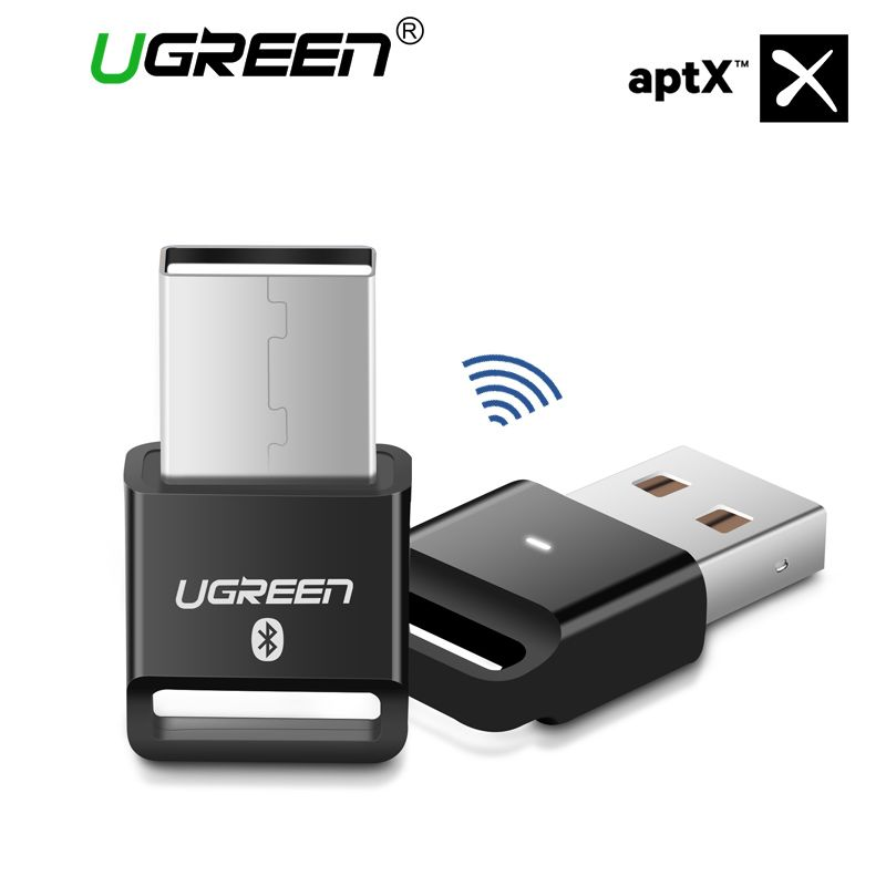 Ugreen Bluetooth Adapter USB Dongle für Computer PC Drahtlose Maus Bluetooth Lautsprecher 4,0 Musik Empfänger USB Bluetooth Adapter