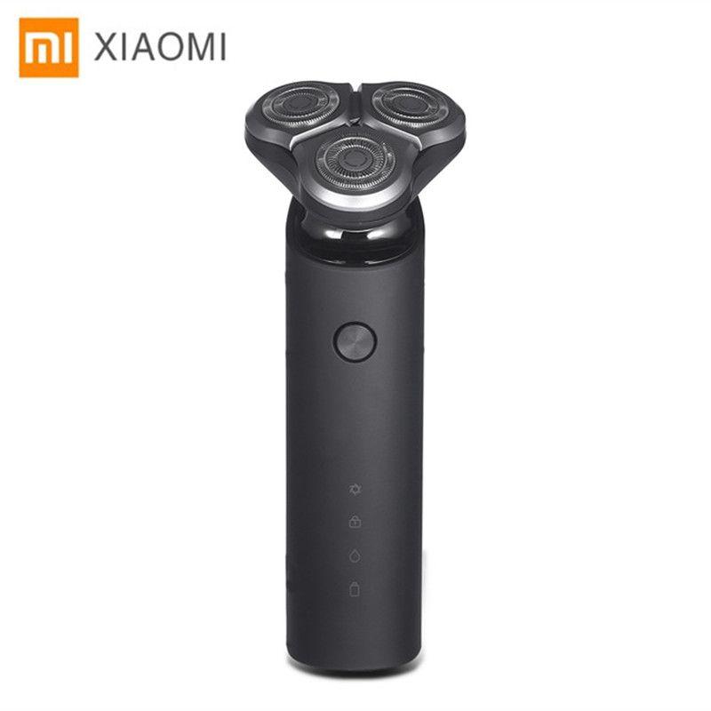 Original Xiaomi Mijia Electric Shaver Razor For Men Head 3 Dry Wet Shaving Washable Main-Sub Dual Blade Turbo+ Mode Comfy Clean