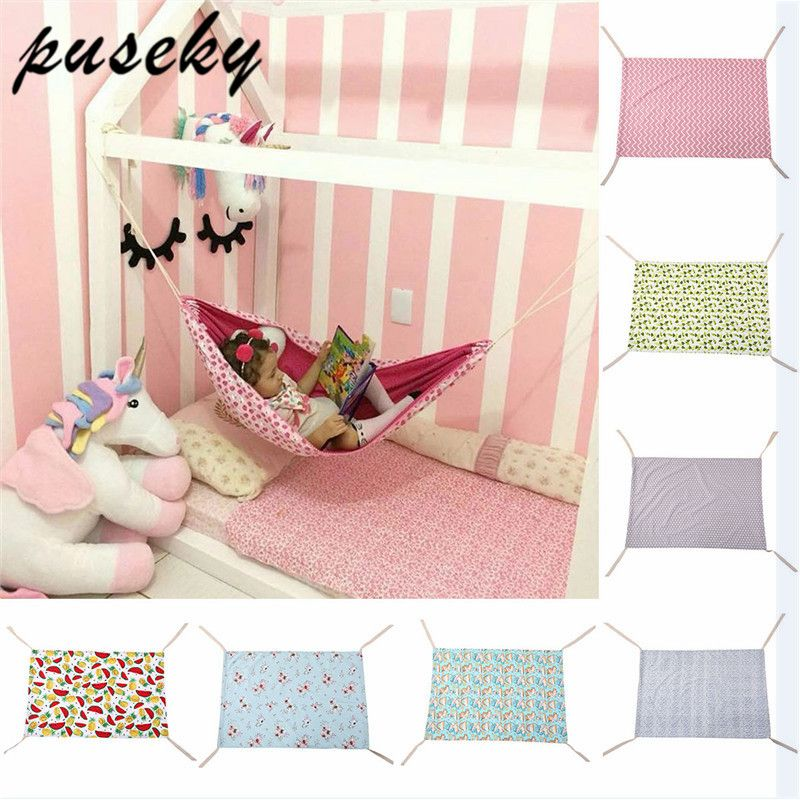 Puseky 2018 Safety Baby Swing Hammock Infant Bed Sleeping Bed Detachable Portable Folding Baby Bouncer Infant Crib for Newborn