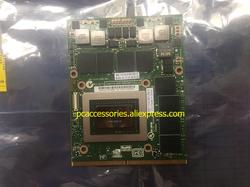 16F2 GTX570M GTX 570 M untuk M S I 16F1 1761 GT680 GX680 GT683DX GX780 GT780 GT783DX VGA Modul kartu Video 260 M 460 M upgrade