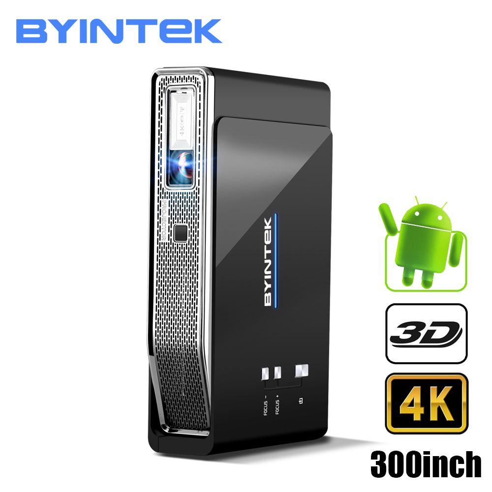 BYINTEK UFO R15 Smart Android WIFI Video Home Theater LED Tragbare lAsEr USB Mini HD DLP 3D Projektor für Volle HD 1080 P HDMI 4 K