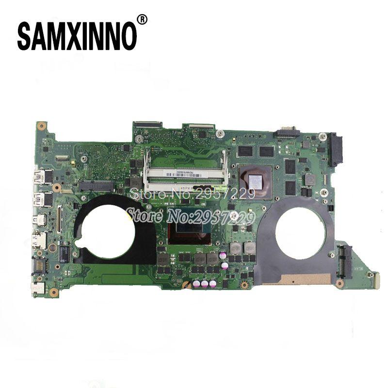 For Asus Motherboard N750J N750JK REV3.0 Mainboard I7-4700HQ Processor GT850 2G HM86 100% Tested S-6