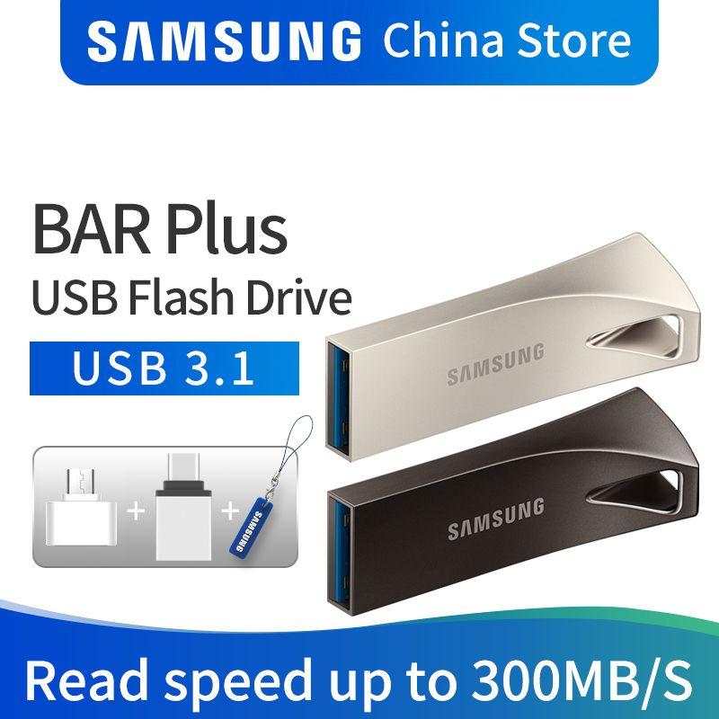 Disque de lecteur Flash USB SAMSUNG 32 GB 64 GB 128 GB 256 GB USB 3.1 3.0 métal Mini lecteur de stylo clé USB dispositif de stockage U Disk