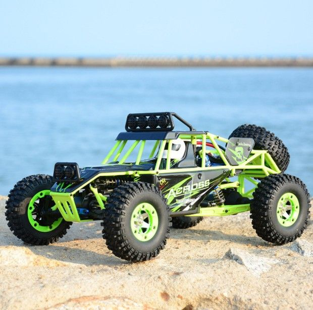 RC Car WLtoys 12428 4WD 1/12 2.4G 50km/h High Speed Monster Truck Radio Control RC Buggy Off-Road RTR Updated Version VS A979-B