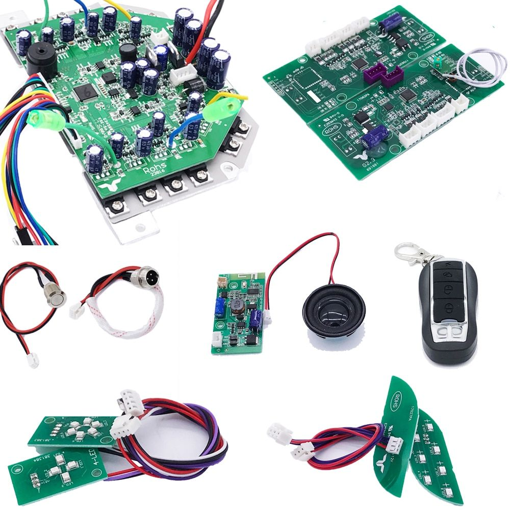 Original Taotao Scooter Motherboard w/Bluetooth Module Speaker Controller for Hoverboard 2 Wheel Smart Balance Electric Scooter