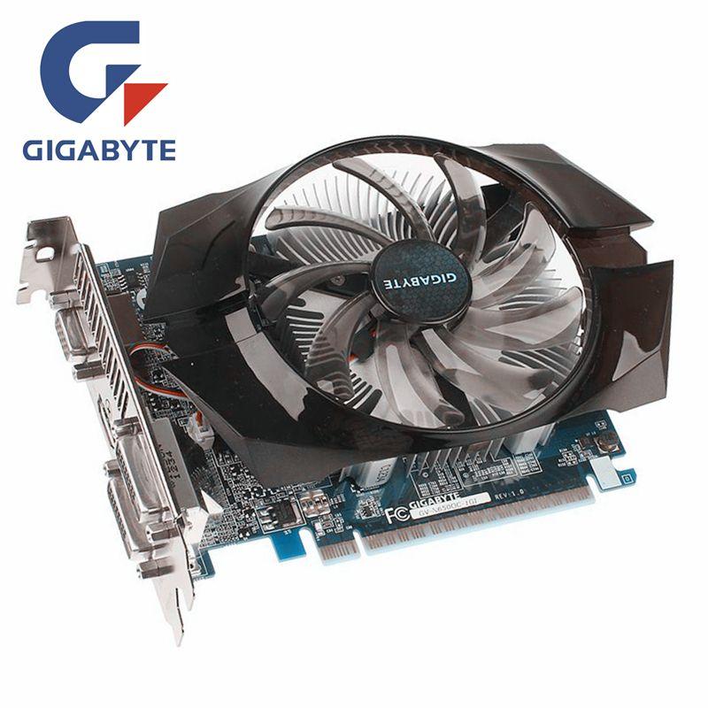 GIGABYTE GTX650 Video Card 1GB 128Bit GDDR5 Graphics Cards for nVIDIA Geforce GTX 650 HDMI Dvi Used VGA Cards On Sale N650