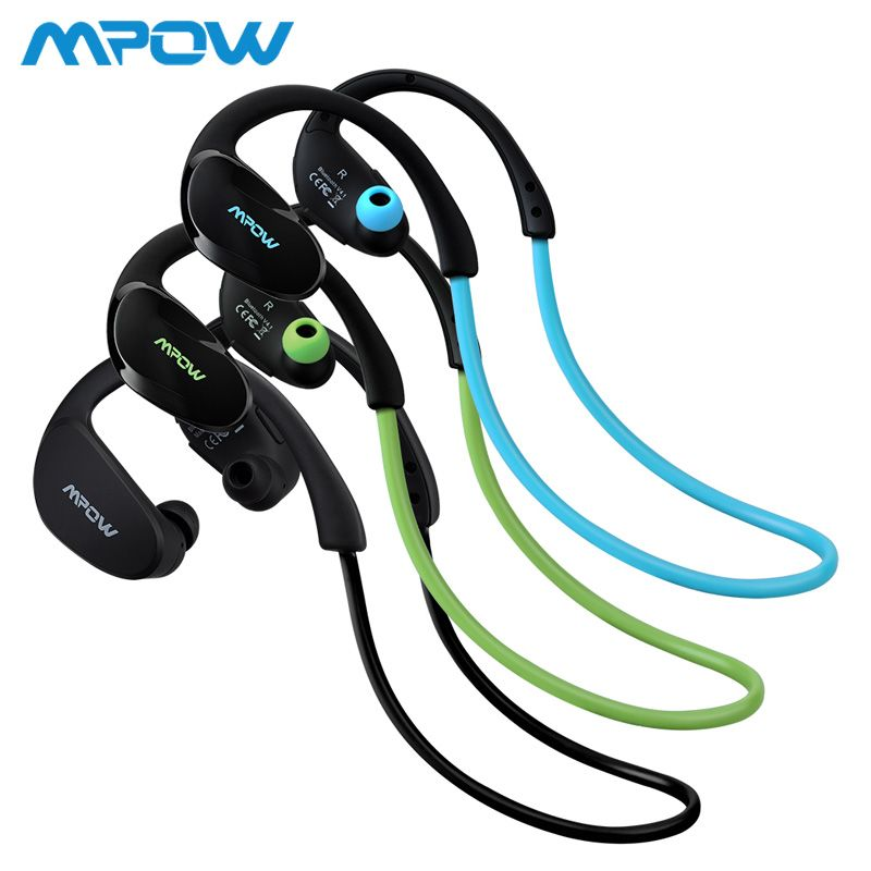 Mpow Cheetah MBH6 2nd Generation Wireless Bluetooth 4.1 Headphones With Mic Hands Free Call AptX Sport Earphone For Smartphones