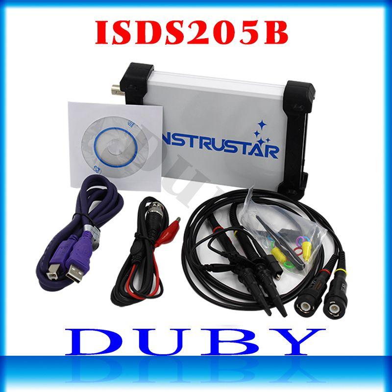 ISDS205B 5 IN 1 Multifunctional PC Based USB Digital Oscilloscop/Spectrum <font><b>Analyzer</b></font>/ DDS/Sweep/Data Recorder 20M 48MS/s