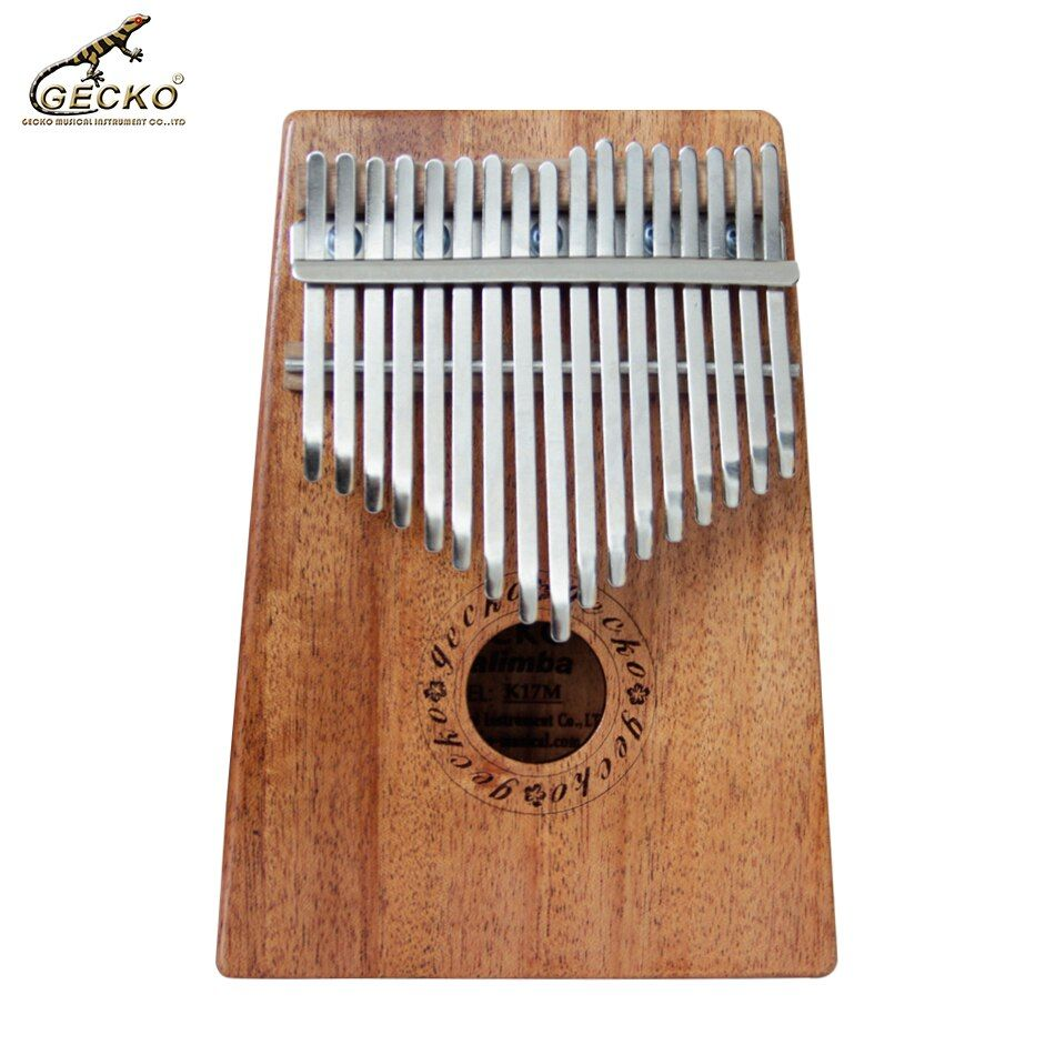 Gecko 17 Key K17M Kalimba 17 African Thumb Piano Finger Percussion Keyboard Music Instruments Kids Marimba Wood