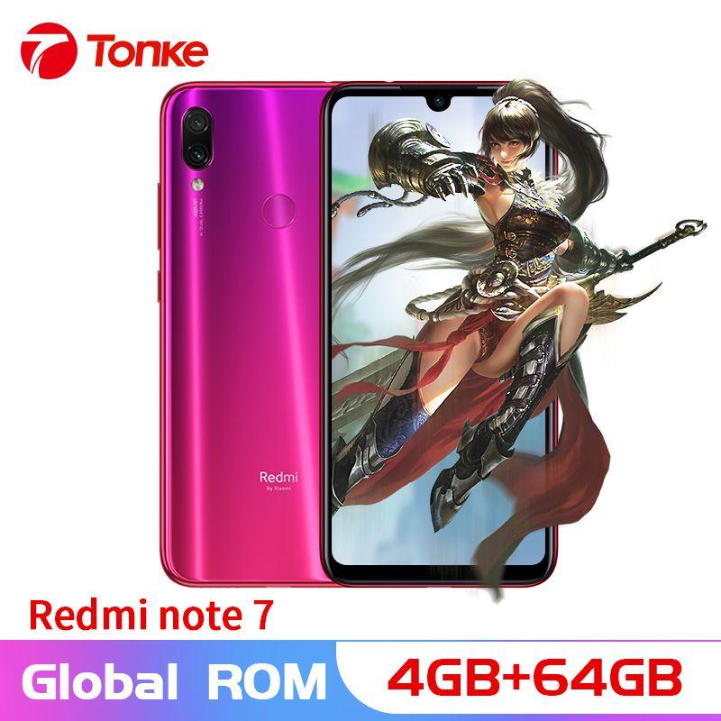 Globale firmware Redmi Hinweis 7 4GB RAM 64GB ROM Snapdragon 660 Octa Core 6,3