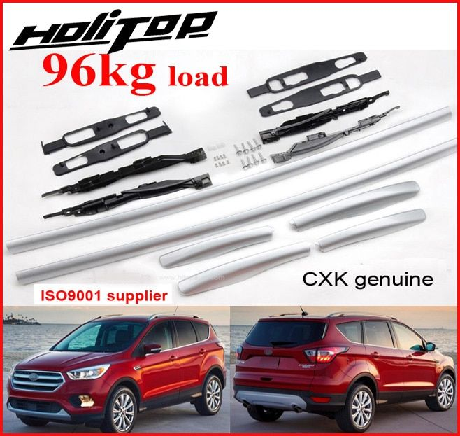 New arrival for Ford Escape/Kuga roof rack roof bar roof rail 2017 2018,CXK geunine,ISO9001 TOP quality,thicken aluminium alloy