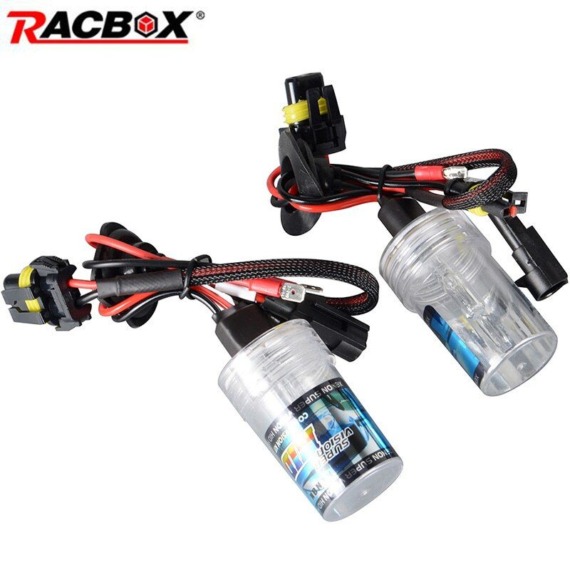 2Pcs 55W 35W H1 H3 H8 H9 H11 9005 HB3 9006 HB4 H7 HID Conversion Kit Xenon Bulb Auto Car Headlight 4300K 6000K 8000K 12000K Lamp