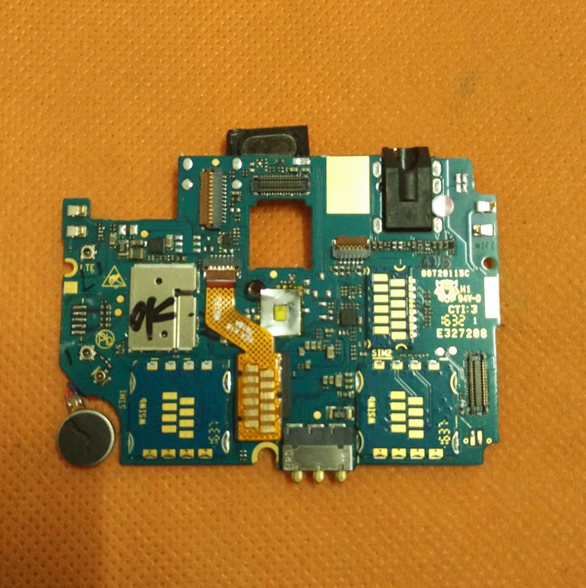 Used Original mainboard 2G RAM+16G ROM Motherboard for HOMTOM HT20 MTK6737 Quad Core HD 1280x720 Free shiping