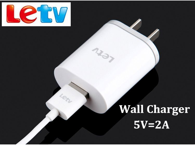 Original letv leeco le s3 x626 Charger letv leeco le pro2 max2 Mobile Phone 5V/2A Usb wall Charge Adapter &Type C Cable