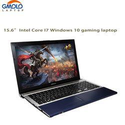 15.6 дюйма core i7 ноутбук 8 ГБ Оперативная память 1 ТБ HDD и SSD w/DVD Встроенная память WI-FI камеры оконные рамы ноутбук