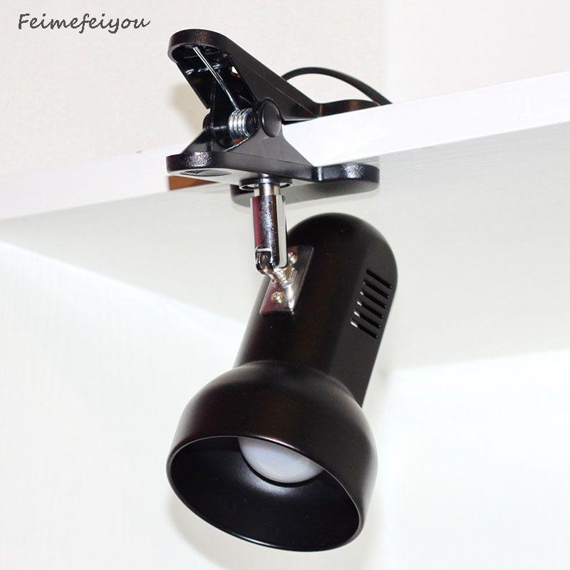 Feimefeiyou adaptateur prise rotative Portable LED lampe de bureau Clip sur Table de bureau livre lecture lumière pour lecture étude maison d'urgence