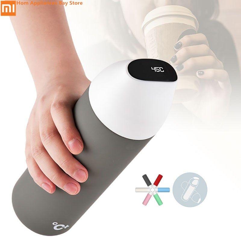 Xiaomi Smart Vakuum Isolierung Flasche Kuss Kuss Fisch Vakuum Flaschen Thermoskannen mit OLED Temperatur Display Reise Becher Thermo Tasse