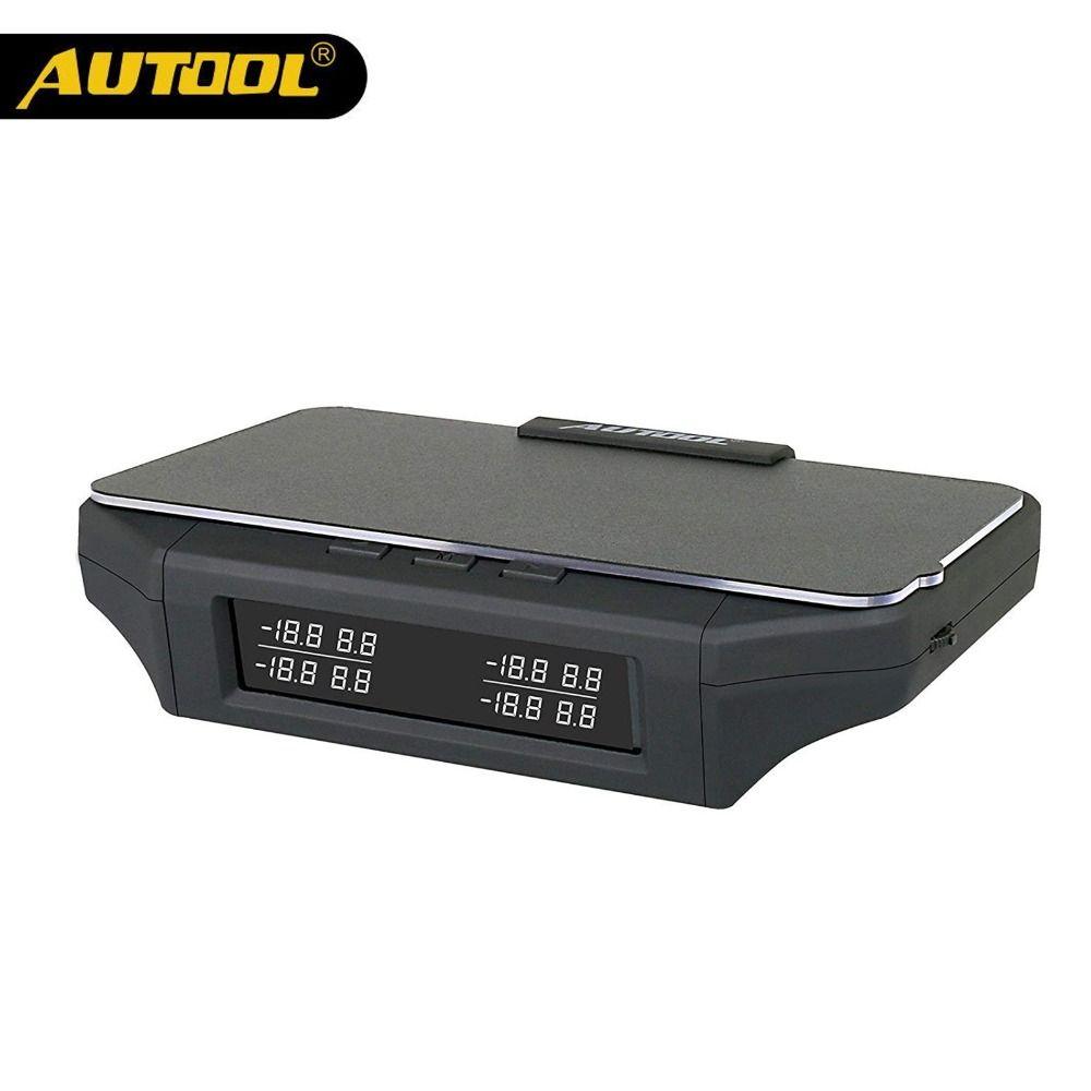 AUTOOL X360 Car TPMS HUD Head Up Display Tire Pressure Monitoring Sensor Thermometer OBD2 3IN 1 Auto OBD 2 II Monitor Diagnostic
