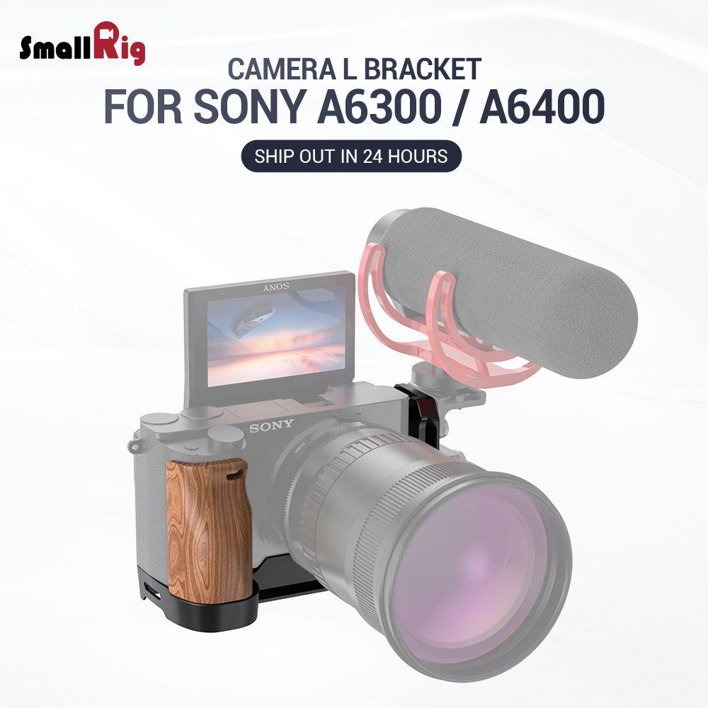 SmallRig A6400 L Platte A6300 L-Halterung für Sony A6400 und A6300 Funktion mit QR Quick Release Arca Stil platte APL2331