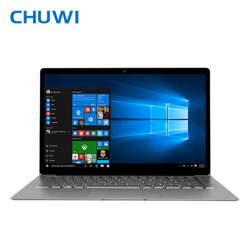 Chuwi официальный! Chuwi Lapbook Air Ноутбук Оконные рамы 10 Intel Apollo Lake n3450 4 ядра 8 ГБ Оперативная память 128 ГБ Встроенная память 14.1 дюймов M.2 SSD Порты и раз...