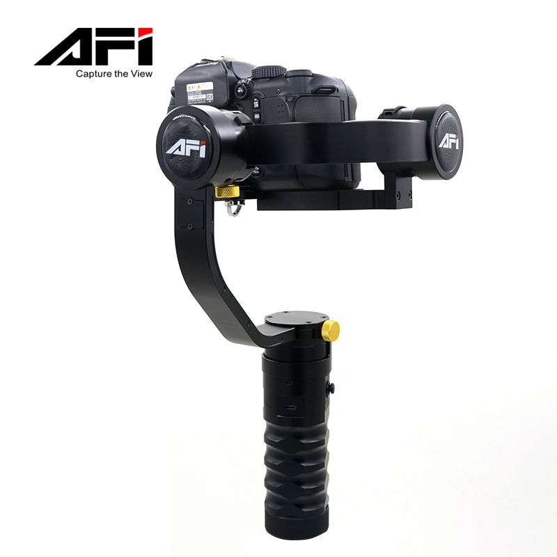 AFI Electronic Gyroscope SLR Camera Shock Absorber Gimbal Mini Handheld Shooting Stabilizer Camera