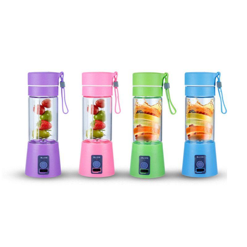 Elektrische Handheld Entsafter Flasche PP USB Lade Obst Mixer Milkshake Smoothie Maker Wiederaufladbare Saft Mixer Portable
