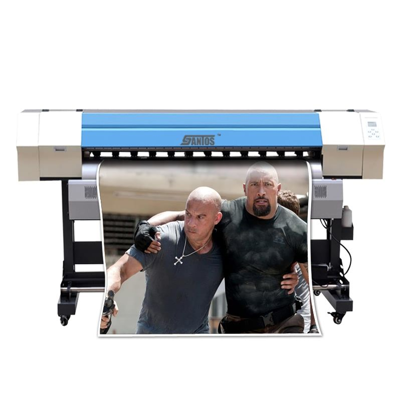 1.8m/6ft Eco Solvent Color Printer Large Format Small Banner Printer Vinyl Banner Sticker PVC film Photpaper Printing Machine
