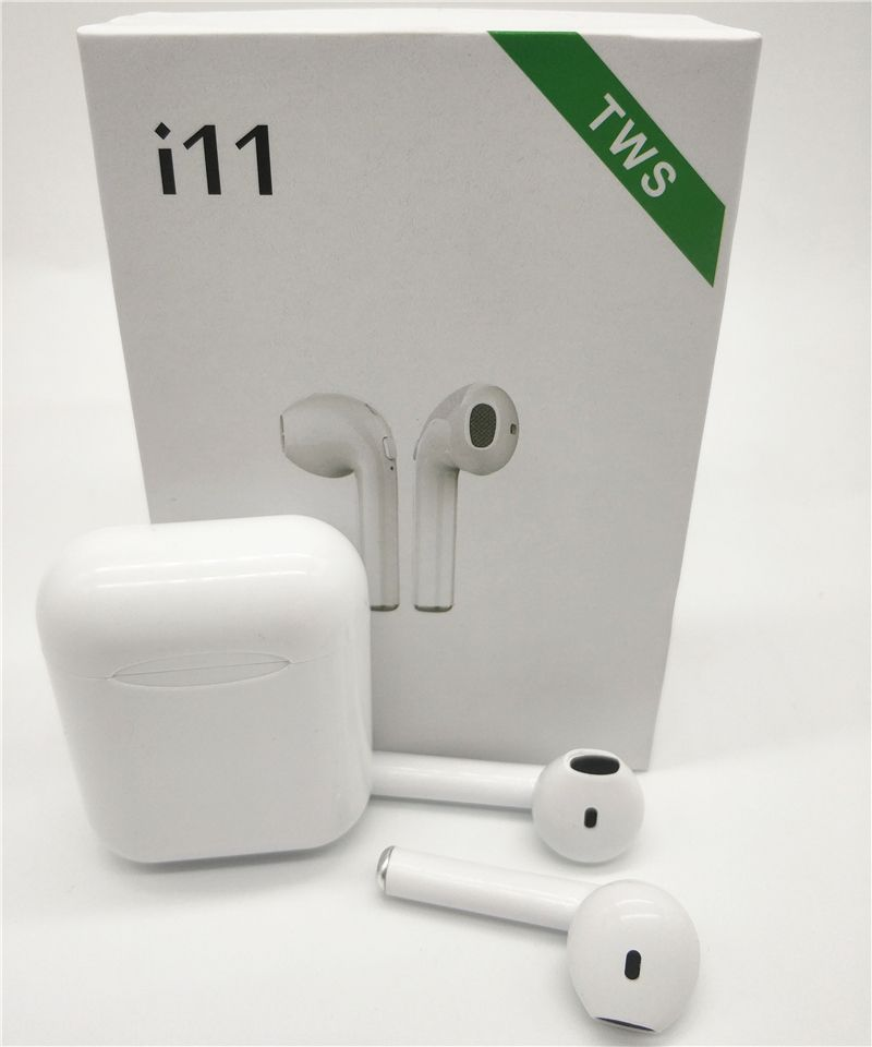 I11 TWS Bluetooth 5.0 écouteurs sans fil écouteurs mini écouteurs i7s avec micro pour iPhone X 7 8 Samsung S6 S8 Xiaomi Huawei LG