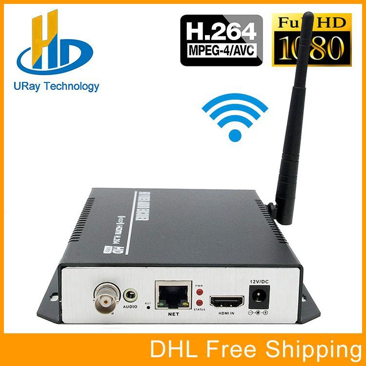 H.264 HDMI + CVBS AV RCA Encoder WiFi HD SD Video Zu IP Encoder IPTV Live-Streaming Encoder Mit HTTP RTSP RTMP HLS ONVIF RTP