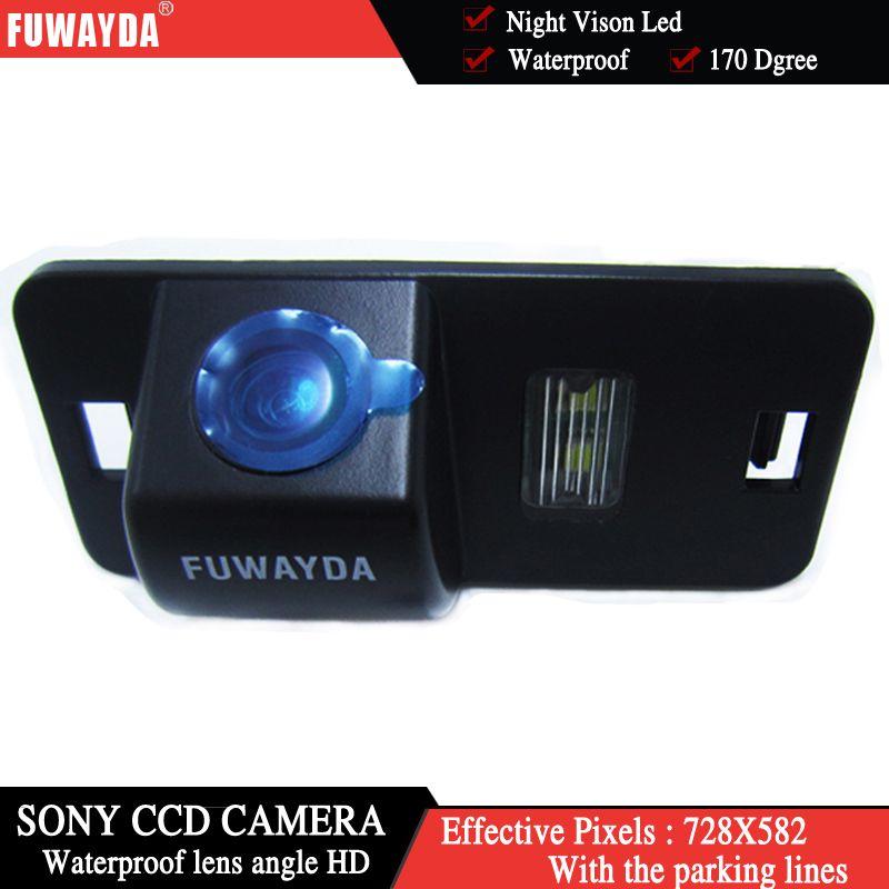 FUWAYDA SONY CCD Chip Car Rear View Reverse Backup Parking CAMERA for BMW 1/3/5/6/7 Series X5 X6 E46 E53 E70 E71 E39 E60N E61N