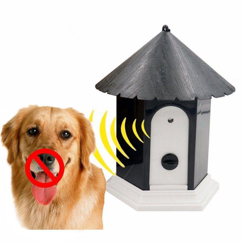 Dispositif Anti-aboiement étanche à ultrasons dispositif Anti-aboiement contrôle des interférences grincement dispositif de Clicker Adjacent outils pour petits chiens fournitures