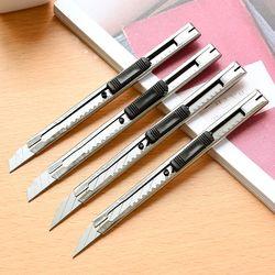 4 Pcs/ensemble Art Couteau Lettre Ouvre Utilitaire Couteau Papier Et Bureau Couteau Diy Cutter Couteau Papeterie École Outils Coupe-Papier
