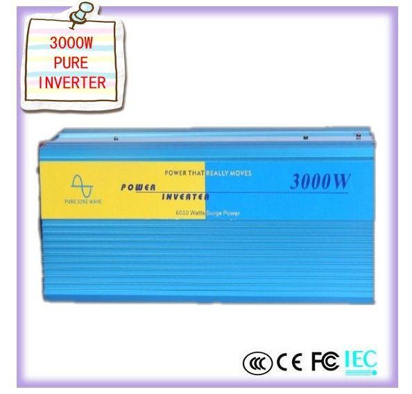 3000W inverter Pure Inverter Pure inverter 3000W CE certificate, Inverter onda sinusoidale