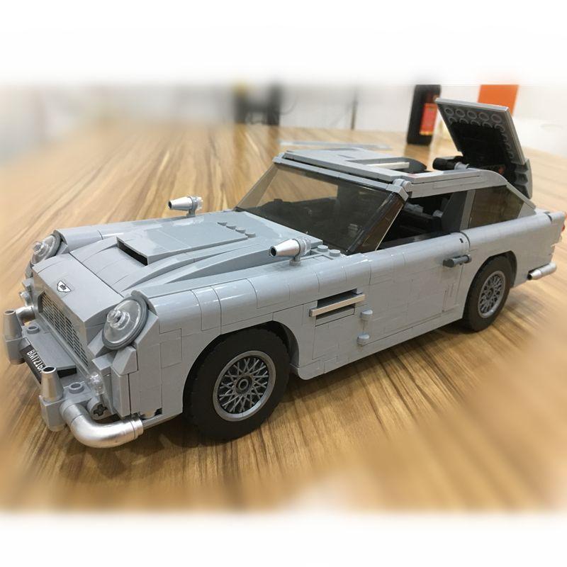 Créateur Technique James Bond Aston Martin DB5 blocs de construction Kit Briques Ensembles Classique 007 jouet modèle Compatible Legoings 21046 Voiture