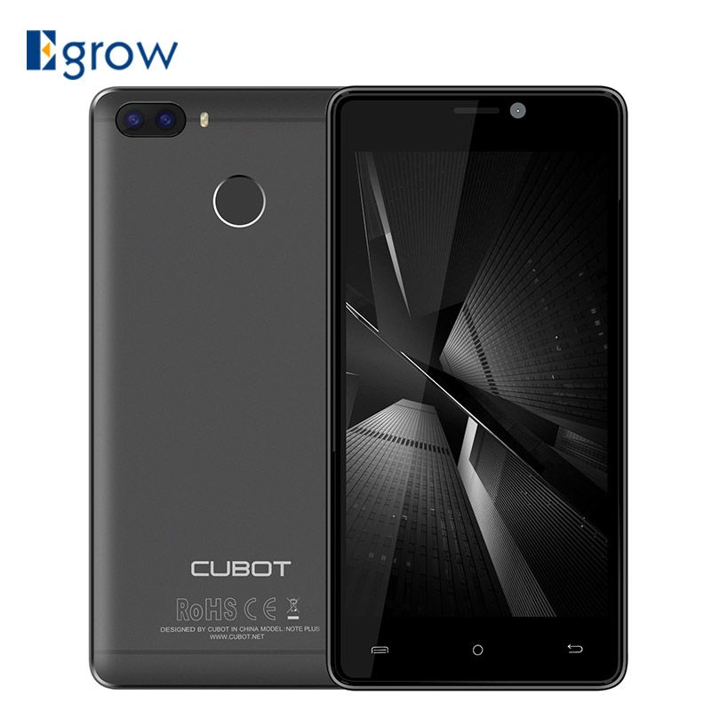 Original Cubot H3 MT6737 Smartphone Android 7.0 5.0 Inch Mobile Phone 3G RAM 32G ROM Dual Back Camera 6000mAh 4G LTE Cell Phone