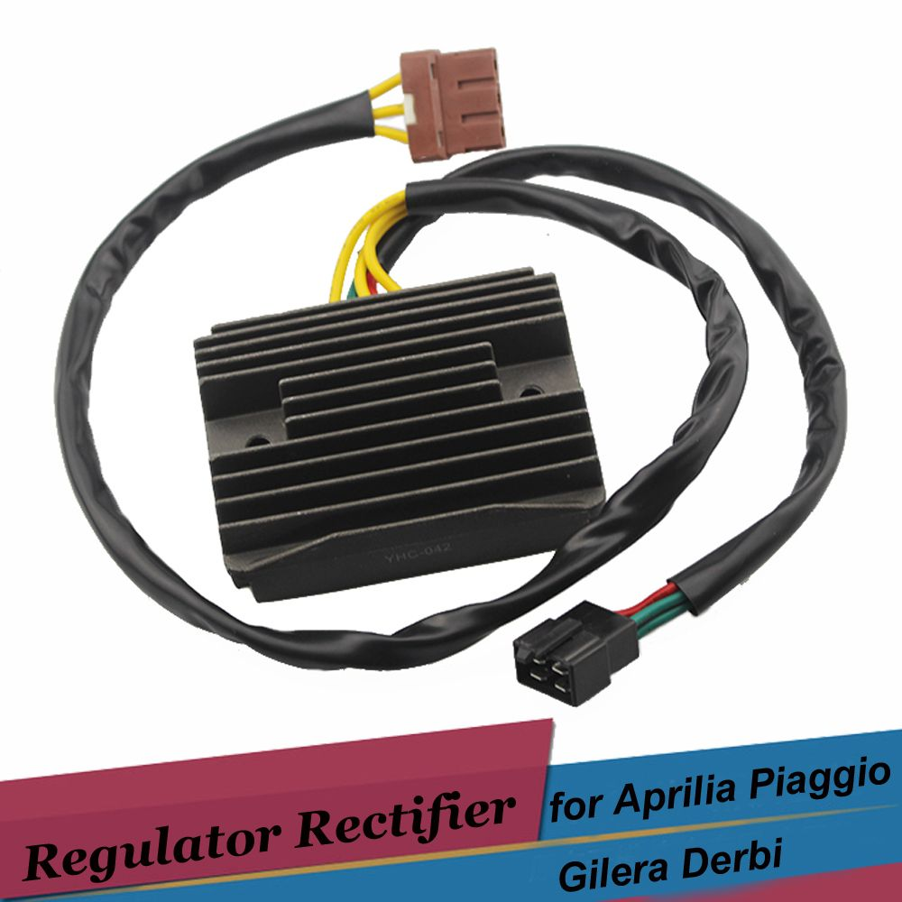 12v Motorcycle Rectifier Voltage Regulator for Piaggio GTV250 GTS250 ie Carnaby 300 ie Cruiser XEvo 400 MP3 250 Beverly 500 250