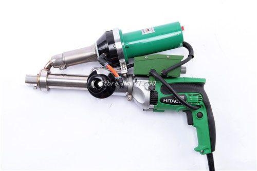New Hot Air pvc Plastic Welder Gun Vinyl extruder pipe extrusion welder machine hand extruders with JAPANESE HITACHI MOTOR
